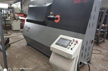 fabrika fiyat çift kablolu otomatik üzengi bükme makinesi