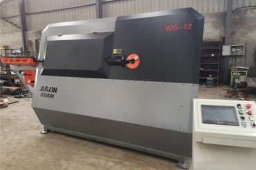 4mm-12mm hidrolik cnc çelik bar bender, inşaat demiri bükme makinesi, otomatik çelik üzengi bükme makinesi