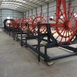 çelik kazık kafesi kaynak makinesi, çelik inşaat demiri kafes makinesi