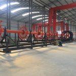 ISO ile inşaat kazık kafesi kaynak makinesi dikiş kaynakçı