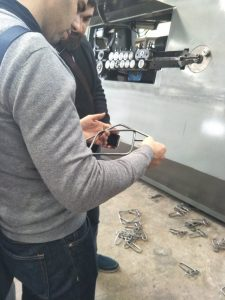 Müşteri ziyaret fabrika