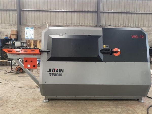 Taşınabilir inşaat demiri üzengi bükme makinesi CNC yuvarlak çelik çubuk kesme ve bükme makinesi